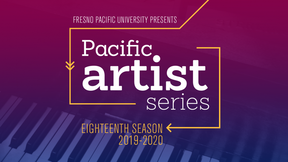 Graphic describing the Pacific Artist Series