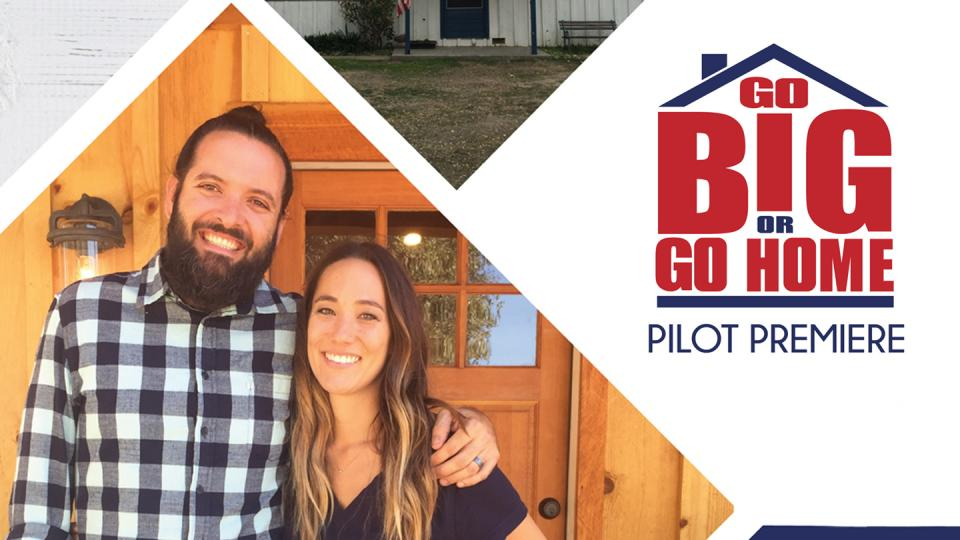 "Nick and Koko Chandler pose for a promotion of their HGTV pilot ""Go Big or Go Home"""