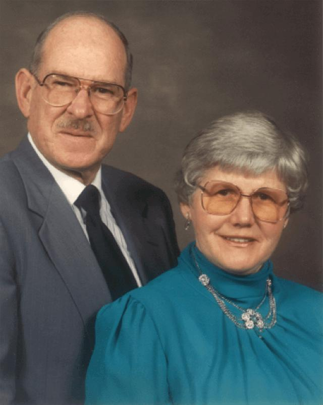 Donald and Johanna Braun portrait