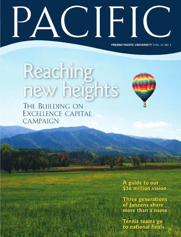 Summer 2008 Pacific Magazine cover