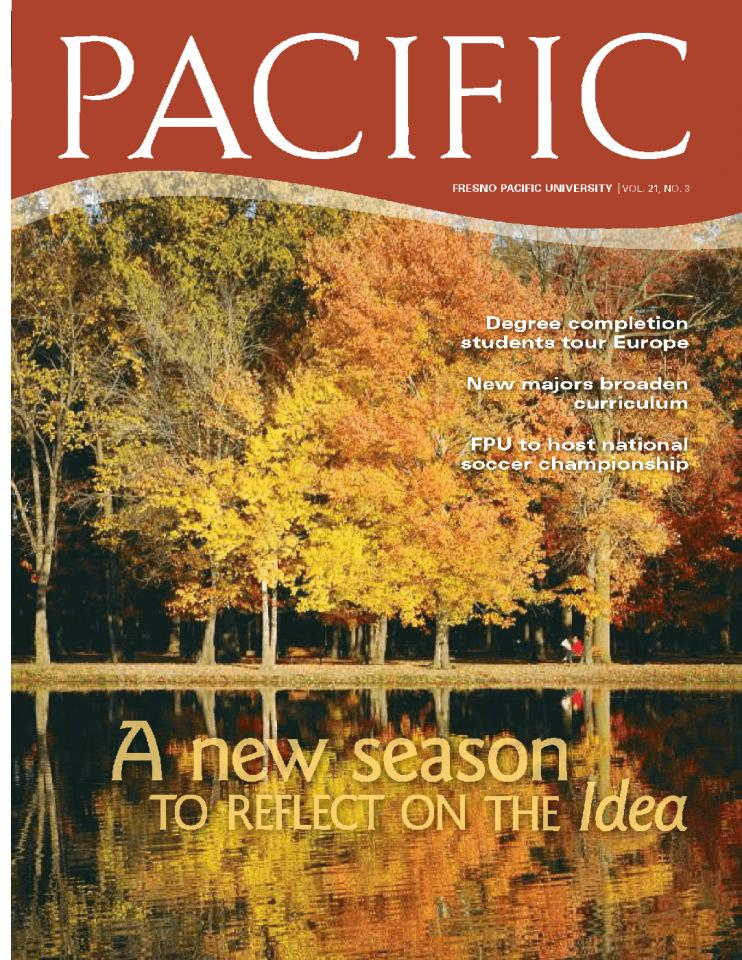Fall 2008 Pacific Magazine cover