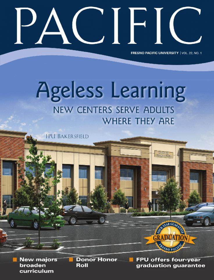 Spring 2009 Pacific Magazine cover