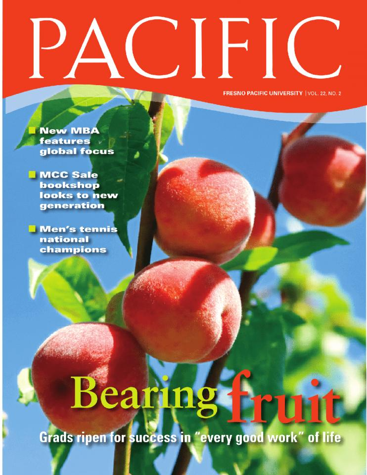 Summer 2009 Pacific Magazine cover