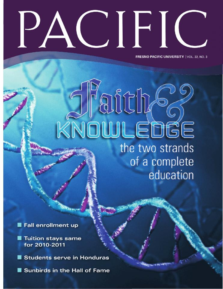 Fall 2009 Pacific Magazine cover