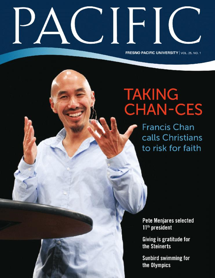 Spring 2012 Pacific Magazine cover