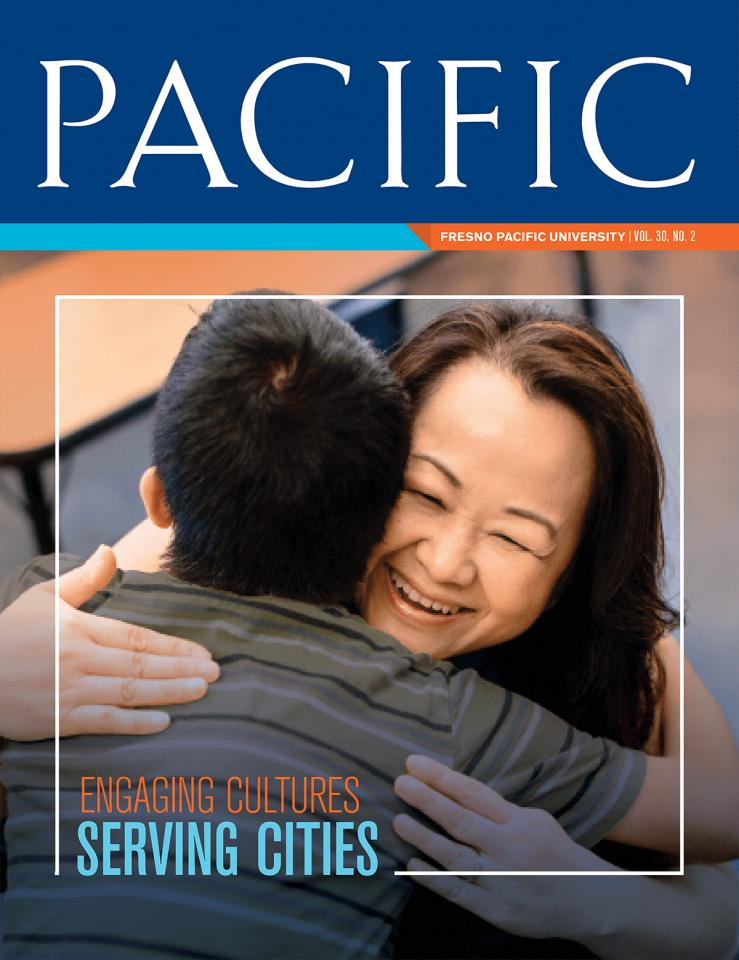 Pacific Magazine, Fall 2017 cover: Engaging Cultures Serving Cities