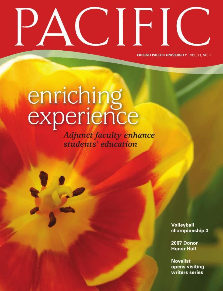 Spring 2008 Pacific Magazine cover
