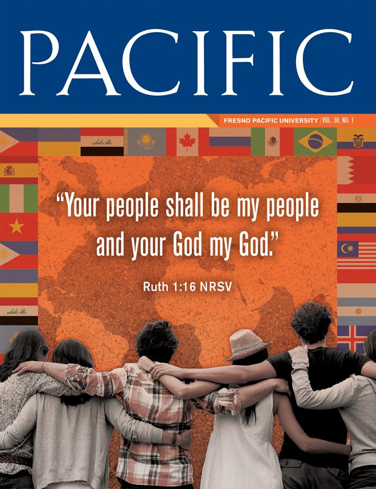 Pacific Magazine, Spring 2017 cover: Your People Shall Be My People and Your God My God