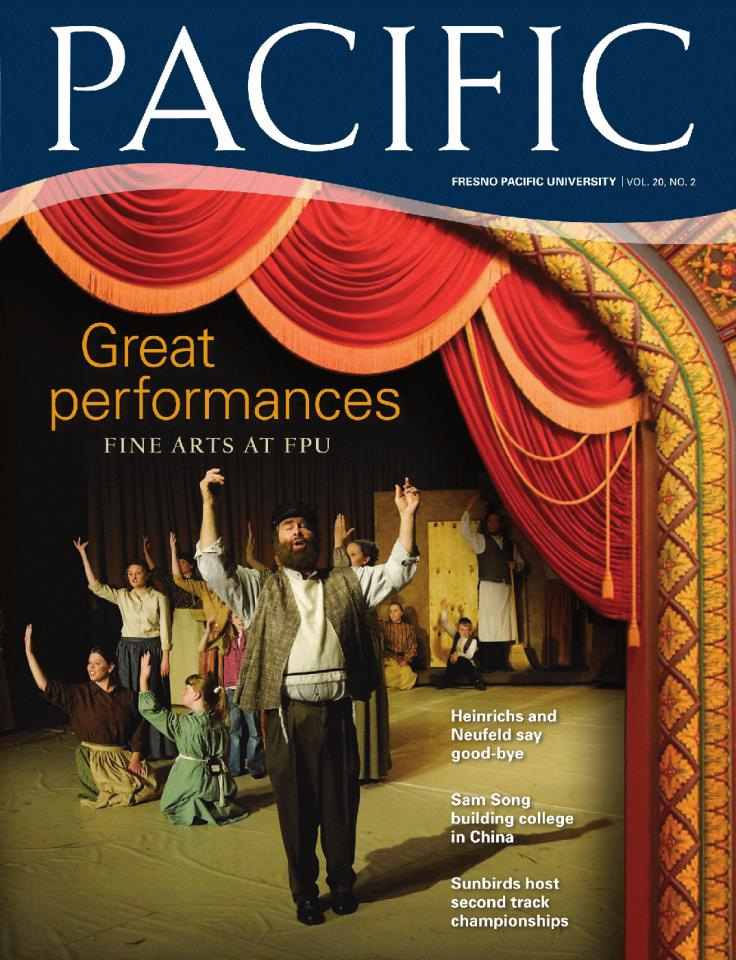 Summer 2007 Pacific Magazine cover