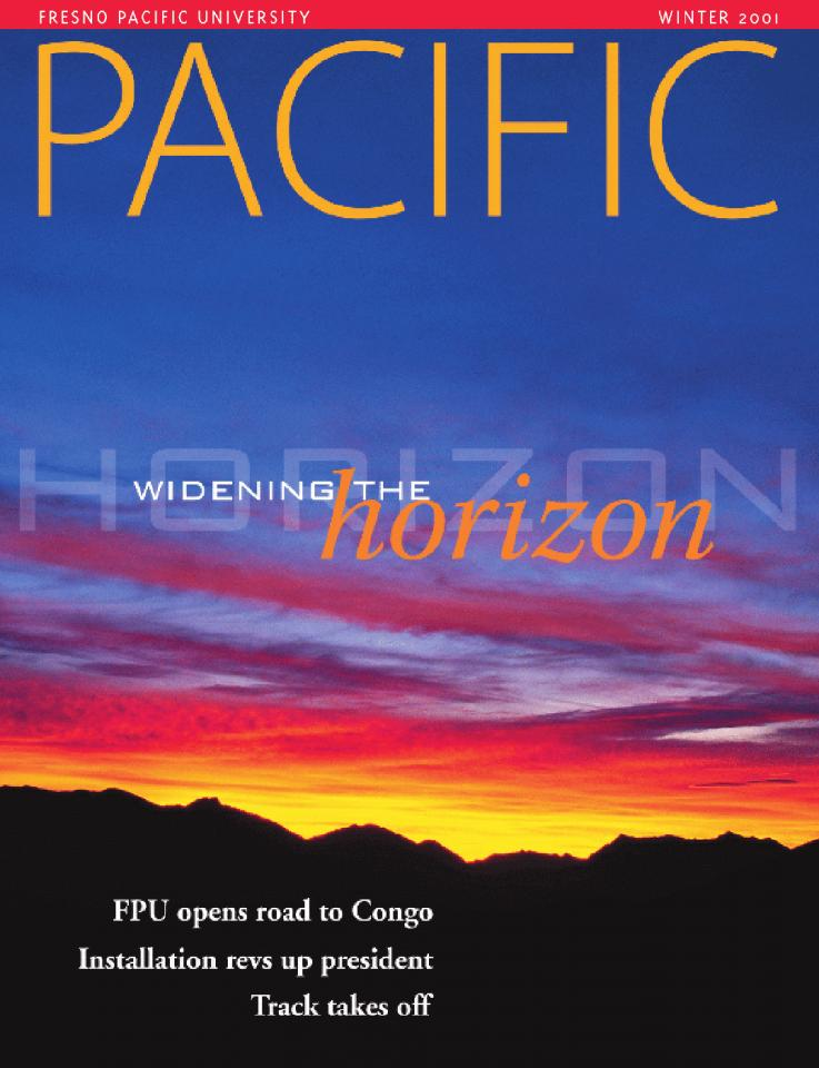 Winter 2001 Pacific Magazine cover