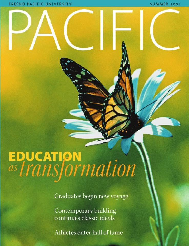 Summer 2001 Pacific Magazine cover