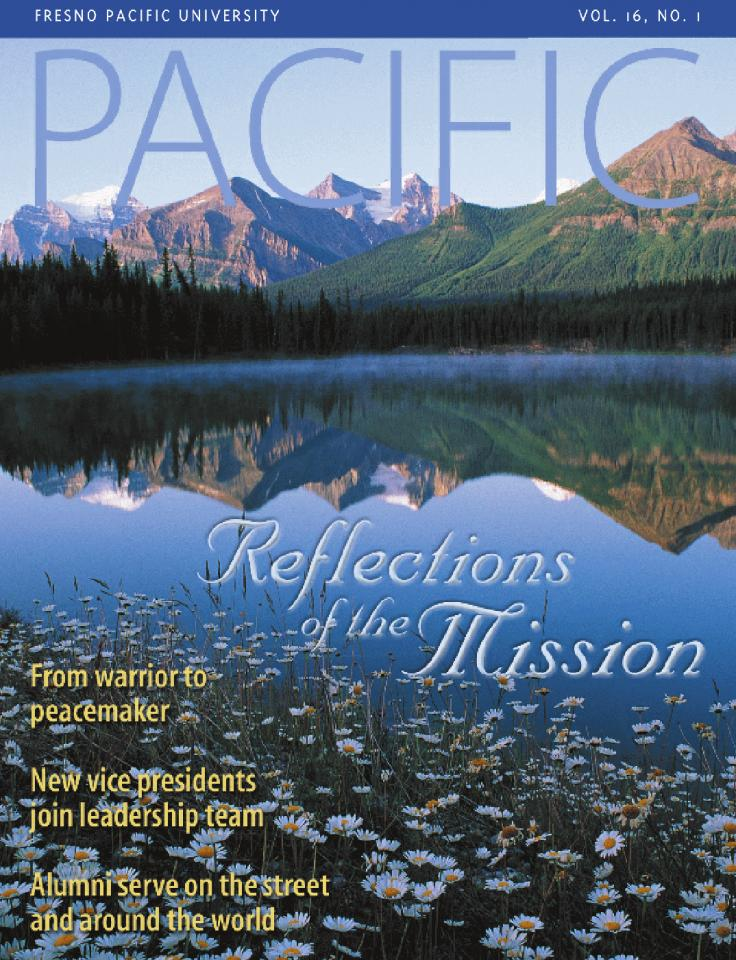 Spring 2003 Pacific Magazine cover