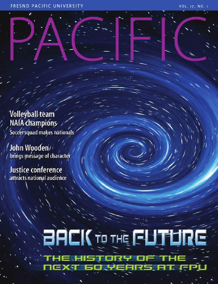 Spring 2004 Pacific Magazine cover