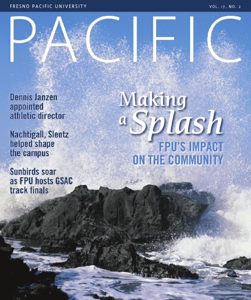 Summer 2004 Pacific Magazine cover