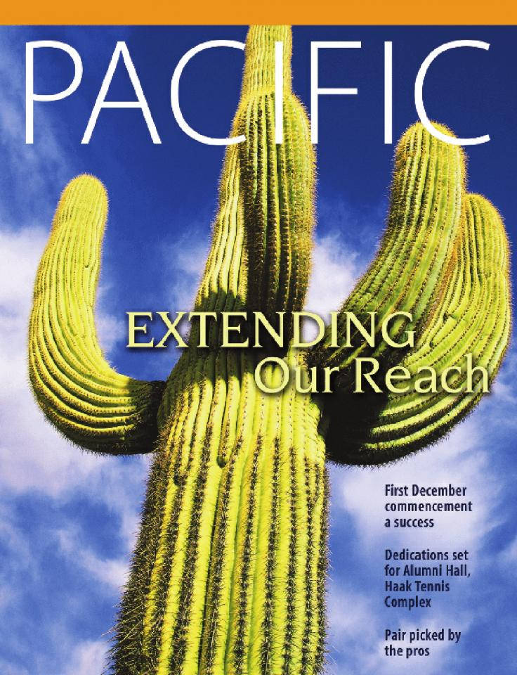 Spring 2005 Pacific Magazine cover