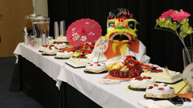 Chinese New Year spread