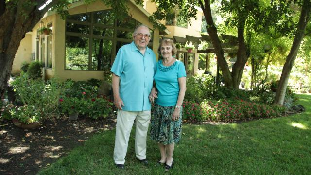 Ted and Joyce Smith, FPU donors