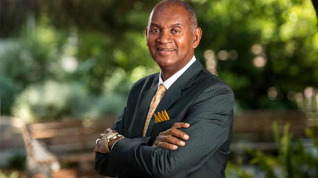 Portrait of Joseph Jones, Ph.D., president of Fresno Pacific University