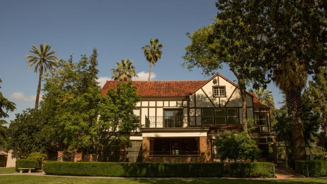 The Seminary House contains the offices of Fresno Pacific Biblical Seminary and is located on the main FPU campus in Southeast Fresno.