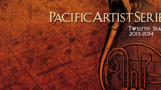Pacific Artist Series: Twelfth Season 2013-2014